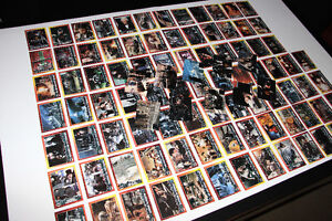 BATMAN RETURNS-COLLECTION-CARTES/CARDS-MASTER SET (NEUF/NEW)