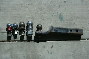 some tow balls or hitch for vehicle trailer