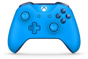 **BRAND NEW** XBOX ONE WIRELESS CONTROLLER - BLUETOOTH - BLUE