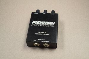 Fishman Transducer Model G PreAmp Black
