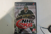 PS2 NHL 6K game