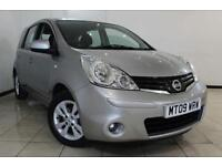 2009 09 NISSAN NOTE 1.6 ACENTA 5DR AUTOMATIC 110 BHP