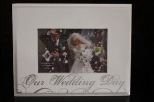 "Wedding Day Photo Frame - 6"" x 4"""