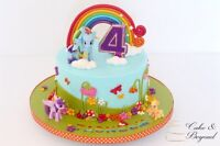 Special handcrafted cake from Cake & Beyond