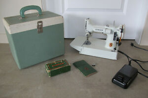 Rare 1960's Featherweight 221K Model Portable Sewing Machine