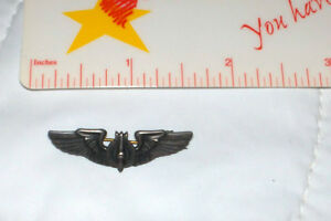 Army air Corp Bambardier Bomb  Pin - WWll Sterling