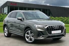 image for 2021 Audi Q3 S line 40 TFSI quattro 190 PS S tronic Auto Estate Petrol Automatic
