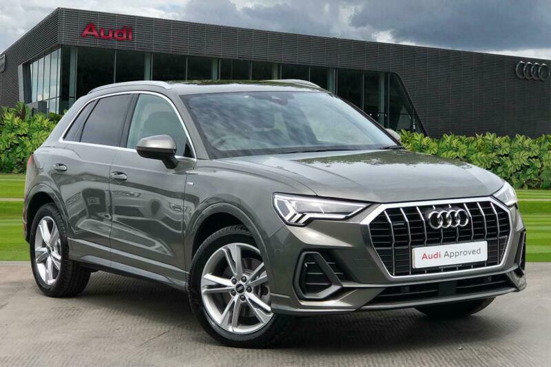 2021 Audi Q3 S line 40 TFSI quattro 190 PS S tronic Auto Estate Petrol Automatic