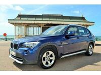 BMW X1 2.0TD auto xDrive20d SE, 44K MILES, FULL S/HISTORY, NEW MOT, 2 OWNER