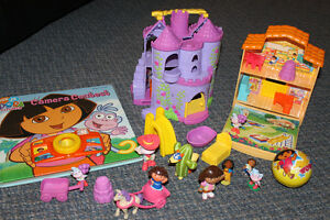 Dora toys/books/DVDs