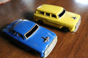 Vintage tin 1950's Toy Cars