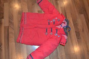 Manteau d'hiver 6X ans - fille