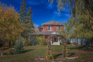 Century Home on 130 Acres