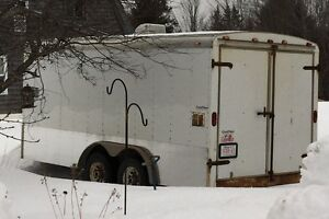 16'x8' cargo trailer, double axle