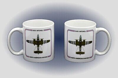 B-25 Mitchell Coffee Mug - Dishwasher and Microwave Safe