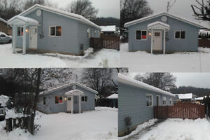 1200sq ft 3 bedroom 1 bath house in Canoe for sale.  Salmon Arm