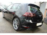 2015 BLACK VW GOLF R 2.0 TSI 300 4MOTION PETROL 5DR CAR FINANCE FR £305 PCM