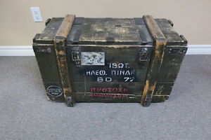 Army chest from 1966