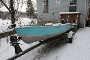 14' Springbok fishing boat, Motor and Trailer