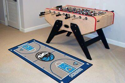 NBA basketball Dallas Mavericks carpet area rug 24 x 44 Fanm