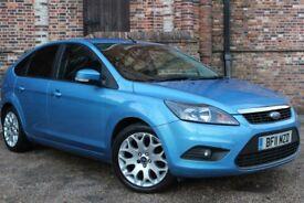 Ford Focus Zetec 1.6 TDCi 109 (DPF) S5 (blue) 2011