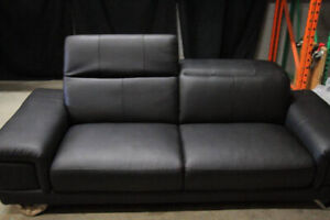 black 3 seat couch brand new