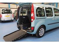 Renault Kangoo Expression Auto Wheelchair or mobility scooter access car vehicle