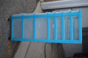 Storage 7 drawer Plastic Unit