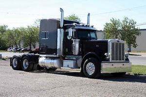 2009 Peterbilt 389 Black Cherry
