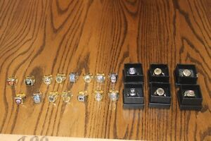 Molson replica NHL rings -