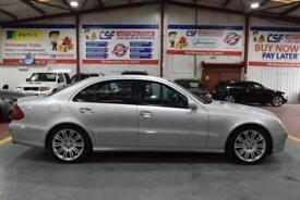 2007 07 MERCEDES-BENZ E CLASS 3.0 E280 CDI SPORT 4D AUTO 187 BHP DIESEL