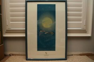 Peter Pan Poster Collectable from Disney World