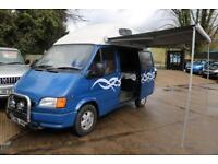 1999 Ford Transit 2.5 120 S HR Blue Camper Van Motorhome Long MOT Low Mileage