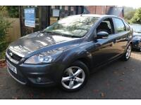 2009 Ford Focus 1.6 ZETEC Grey 5 Door FSH Finance Available