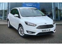 2016 Ford Focus 1.0 EcoBoost 125 Titanium 5dr***With Satellite Navigation*** Man