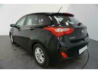 2016 BLACK HYUNDAI i30 1.6 CRDI BLUEDRIVE SE DIESEL HATCH CAR FINANCE FR £129PCM