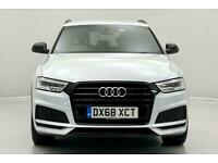 2018 Audi Q3 1.4T FSI Black Edition 5dr S Tronic Auto SUV Petrol Automatic