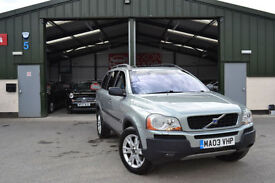 2003 Volvo XC90 2.9 AWD Geartronic AUTOMATIC PETROL T6 FULL SERVICE LOW MILLAGE