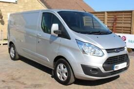2016 FORD TRANSIT CUSTOM 290 TDCI 155 L2 H1 LIMITED LWB LOW ROOF FWD VAN LWB DIE