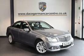 2012 12 MERCEDES-BENZ C CLASS 2.1 C220 CDI BLUEEFFICIENCY ELEGANCE 4DR 168 BHP D