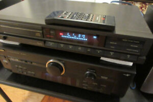 Technics Stereo CD Player with Remote Control