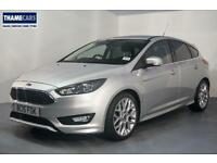 """2015 Ford Focus 1.5 Ecoboost 150ps Zetec S With 18"""" Alloy Wheels, Bluetooth And"""