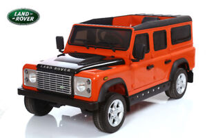 Land Rover® Defender Electric Ride On Toy Car
