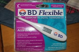 BD FLEXIBLE DIGITAL THERMOMETER