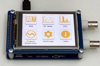 Uce-dso210 3.2 Tft Digital Oscilloscope 10msps 2 Ch Probe