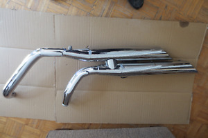 Full factory exhaust system for a 2005 Vulcan 1600 -A-3