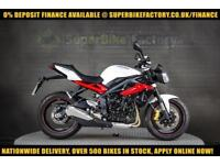 2017 66 TRIUMPH STREET TRIPLE 675 R ABS 675CC 0% DEPOSIT FINANCE AVAILABLE