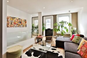 Plateau MT-Royal - CONDO MEUBLÉ 2 cac, FULLY FURNISHED CONDO