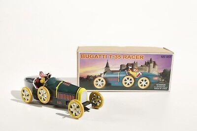 + Blechspielzeug  RENNWAGEN Rennauto Bugatti °° Tin Toy °° Jouet en Tôle °°