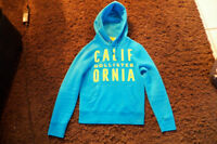 Blue Hollister Hoodie Small